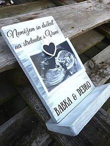 Tabuľky - Oznámenie čakania bábätka - 10508619_
