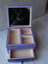 Krabičky - Maľovaná šperkovnička - 10509300_