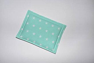 Úžitkový textil - Mentolový vankúšik - 10510481_