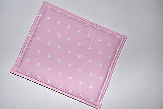 Úžitkový textil - Ružový vankúšik - 10510483_