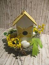 Dekorácie - Veľkonočná dekorácia - 10510837_