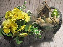 Dekorácie - Veľkonočná dekorácia - 10510904_