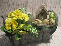Dekorácie - Veľkonočná dekorácia - 10510908_