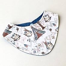 Detské doplnky - Zvířátka - nákrčník / šáteček (1-4 roky) - 10511085_