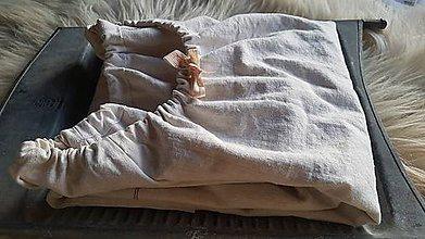 Šaty - Ľanové šaty - 10511029_