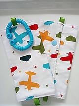 Detské doplnky - Ochranné návleky na popruhy na ergonosič lietadlá - 10509459_