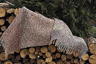 Úžitkový textil - RUČNĚ TKANÝ KOBEREC - PREDLOŽKA 2 - 10508434_
