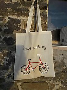 Nákupné tašky - Taška Bicykel - 10510252_