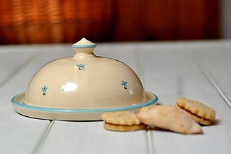 Nádoby - Maselnička- Nezábudky - 10507972_