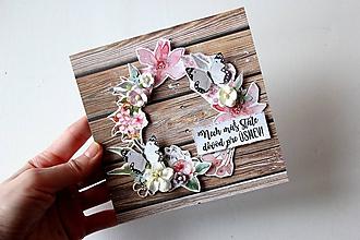 Papiernictvo - Pohľadnica - vôňa lúky - 10511033_