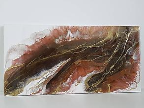 Obrazy - Chocolate wave - 10509443_