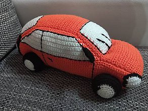 Hračky - Oranžové auto - 10511045_