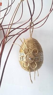 Dekorácie - Veľkonočné vajíčko - 10511277_