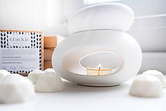 Svietidlá a sviečky - Vonný vosk - Šumivý citrón - 10511150_