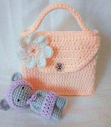 Detské tašky - Kabelka pre malé parádnice - 10508847_