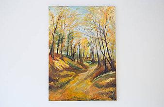 Kresby - Obraz: Cesta na vršky - 10510358_