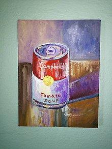 Obrazy - Campbell's Soup - Warhol - 10510859_
