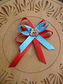Odznaky/Brošne - ochranná mašlička na kočík pre chlapca - 10508888_