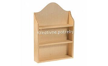 Polotovary - Polička oblúk - 10509056_