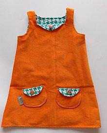 Detské oblečenie - Roztomilé a úžasné dievčenské šaty - 10512159_