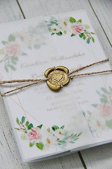 Papiernictvo - Svadobná obálka Seal - 10514598_