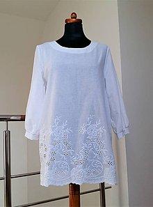 Tuniky - Biela bavlna - 10514811_