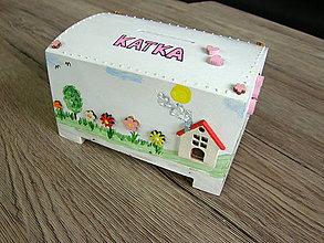 Krabičky - pokladnička pre dievčatko - 10513371_