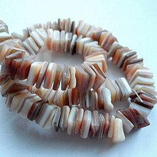 Korálky - Perleťové kamienky-návlek cca 39cm - 10515034_