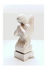 Anjel - drevená soška