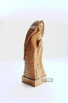 Socha - Modliaca sa..  - drevená soška - 10512742_
