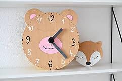 Hračky - Edukačné dizajnové hodiny – Na učenie sa času - 10513252_