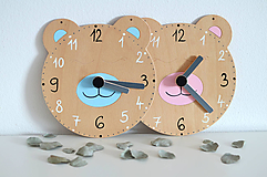 Hračky - Edukačné dizajnové hodiny – Na učenie sa času - 10513253_