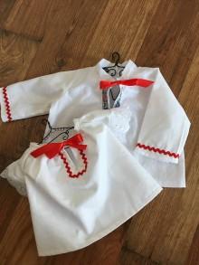 Košele - Miniatúrna krojová košeľa ako suvenír - 10514170_