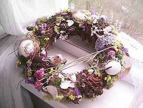 Dekorácie - Jarný veniec