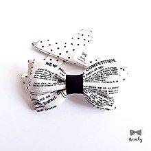 Doplnky - Pánsky motýlik - Novinár - 10512336_