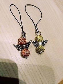 Kľúčenky - Kľúčenky anjelikovia - 10514523_