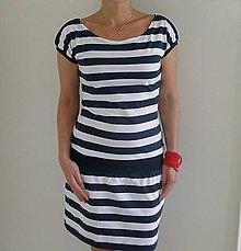 Šaty - Námořnické šaty...vel.S - XXL.(S-ihned) - 10513542_