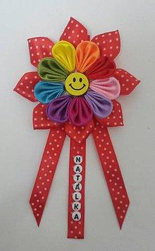 Detské doplnky - Kvietok na kočík farebný pre chlapčeka aj dievčatko - 10513504_