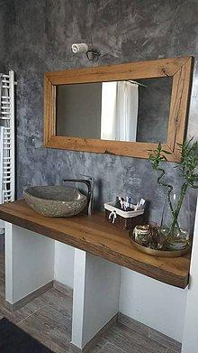 Nábytok - Kúpeľňa so starých dubových hranolov 4 - 10514185_