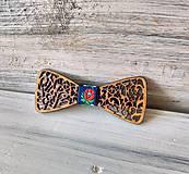 """Detské doplnky - Detský drevený motýlik """"Láska"""" (folklórna) - 10513012_"""
