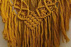 Dekorácie - macrame dekorácia veľká - 10513743_