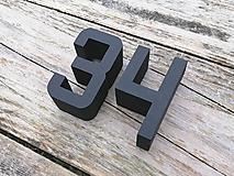 Tabuľky - Popisné číslo: Samostatné číslice Digital - 10512143_