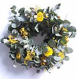 Dekorácie - Veniec Jarná sviežosť - 10513416_