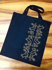 Nákupné tašky - Taška folk II (Červená) - 10514728_