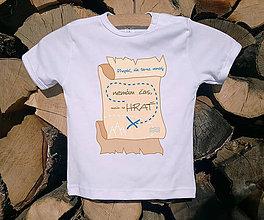 Detské oblečenie - Detské tričko - Nemám čas - 10515039_