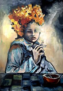 Obrazy - Leon v starom kabáte - 10514362_
