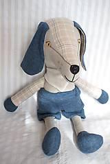 Hračky - Pes Dodo ( veľkosť XL ) - 10513279_