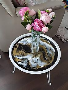 Nábytok - Stôl zo živice - 10512125_