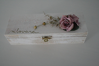 Iné doplnky - Krabička milovaná II - 10514904_
