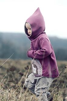 Detské oblečenie - Pro skřítčí holčičky - s laní a jelenem - 10514886_